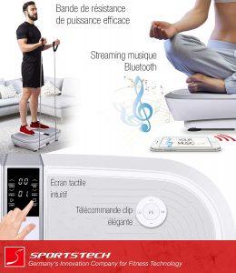 Sportstech Plateforme Oscillante & Vibrante VP300 en promo